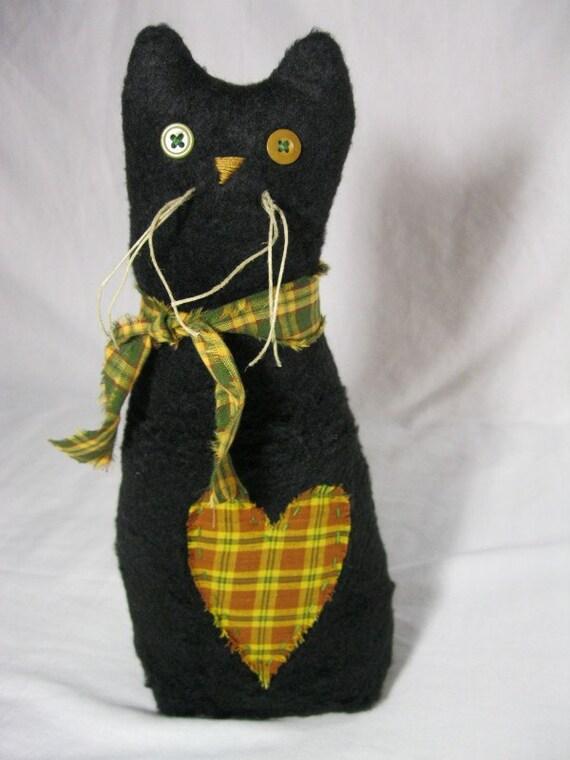 Shadow - large black cat