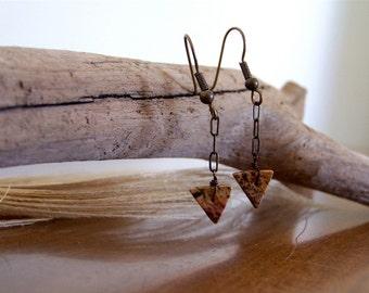 Arrow Drops  ...  Earrings