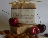 Delectable Cherry Almond Scented Handmade Natural Cold Process Soap (Vegan)