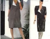 PATTERN Vogue 1173 Dress Straight Size 14 Emanuel Ungaro (Uncut)