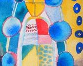 Window, watercolor