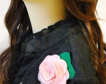Rose Brooch -Pick Your Color