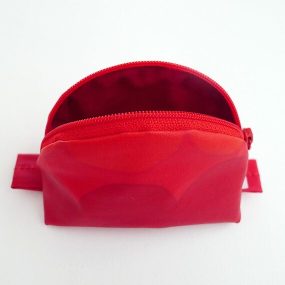 Cosmetic Bag Marimekko Small Red Rag Rug By IppuStudio