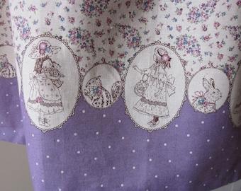 Classic Lolita Sweet Lolita Violet Rose Bear Rabbit Squirrel Cameo Dress JSK