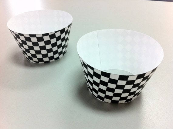 Race Car Cupcake Wrappers - DIY Printable Party