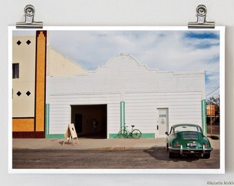 Downtown Marfa Texas Fine Art Photograph 8 x 12