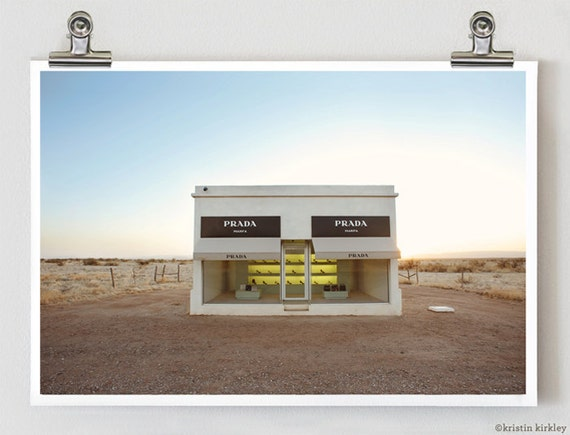 Prada Marfa West Texas Fine Art Photography Print