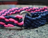 Martingale Style Dog Collar - Braided