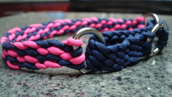 Martingale Style Dog Collar - Braided