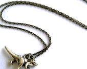 """Notably Sophisticated T-Rex 18"""" Necklace"""