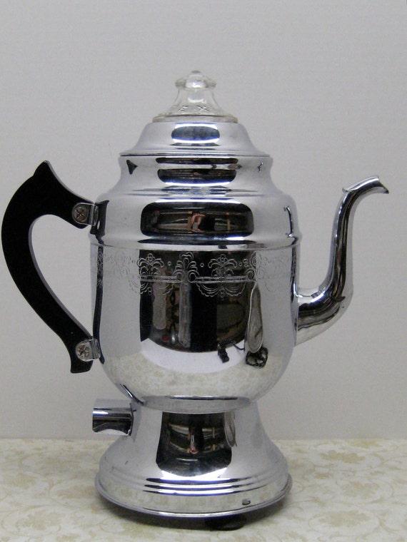 Vintage United Coffee Maker Percolator