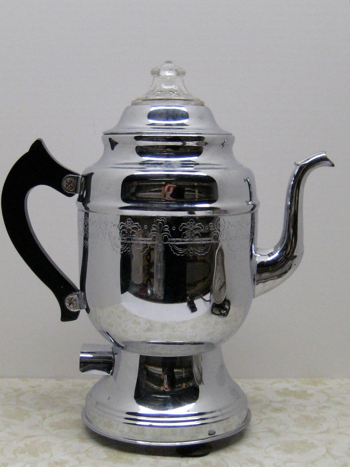 Old Coffee Makers ~ Vintage united coffee maker percolator