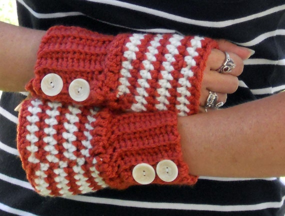 Winter rose arm warmers, fingerless gloves, texting gloves, crochet gloves, boho gloves, hand warmers, mittens, boho fashion, button gloves