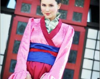 Adult Mulan Costume - Made To Order