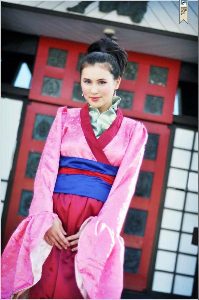 Adult Mulan Costume Made To Order