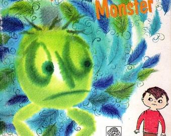 Vintage Book Children's Once I had a Monster 1960s