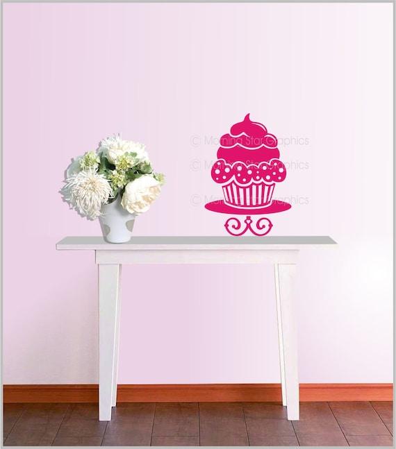 Cupcake Vinyl Wall Decal Home Kitchen Decor By Designsplash Home Decorators Catalog Best Ideas of Home Decor and Design [homedecoratorscatalog.us]