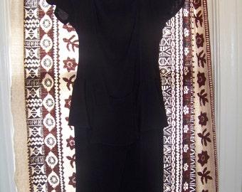 Sale,       Brand New Vintage Black Dress / Size 5/6