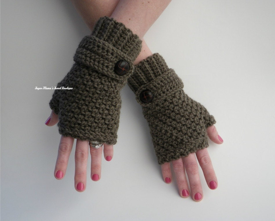 INSTANT Download Sophie Fingerless Gloves CROCHET PATTERN by ...