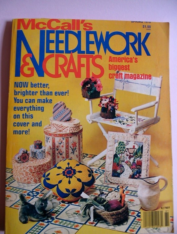 McCall's Needlework & Crafts Magazine, Spring 1978