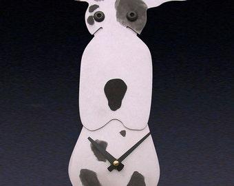 Great Dane Dog Art - Great Dane Clock - by Anita Edwards