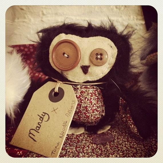 Owl Plush 'Mandy'