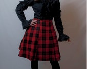 Lolita in Red Tartan Skirt