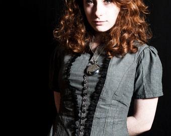 Shirt Charbon - steampunk - victorian