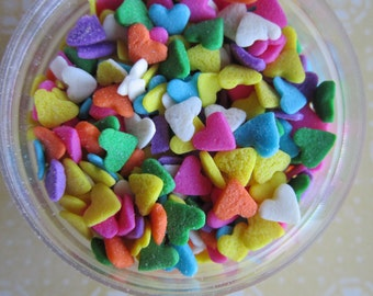4 oz Candy Heart Confetti Quin Cupcake Sprinkles