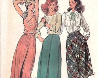 Versatile Skirt Pattern Butterick 6897 Size 14 16 18