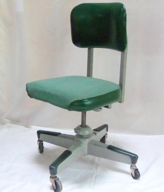 Items Similar To Mid Century Metal Office Desk Chair
