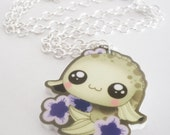 SALE Lill Koi - Tomo Acrylic Kawaii Koi Necklace Charm