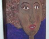Original Canvas Art - Be Natural LaToya