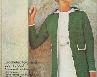 ON SALE - Golden Hands Encyclopaedia of Knitting Dressmaking and Needlecraft Guide Part 26 1970s