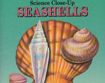 ON SALE - Science Close Up SeaShells Childrens Book 1990s