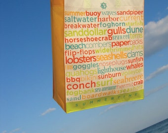 Beach bag tote . reusable, recyclable, breathable quick drying, light weight wonder bag . SALE