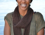 Brown Casual Scarf