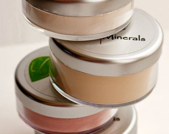 Perfect Face Kit No.3- 12 free samples, then exactly the right Foundation,  Blush, and Veil or Setting Powder, and Concealer- SAVE 16.97