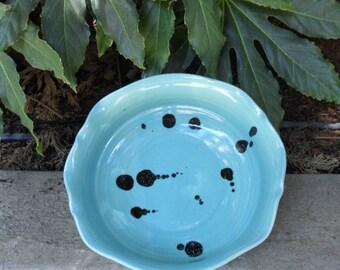 Turquoise Gloss Salad/Fruit Bowl
