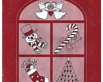 Holiday Season Transfer Treasury  Iron on Holiday Pattern book