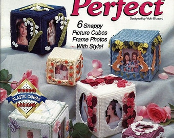Picture Perfect Plastic Canvas Pattern Book 913916 The Needlecraft shop
