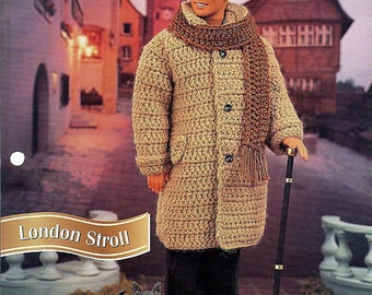 London Stroll Crochet Pattern for Ken Annies Fashion Doll Crochet Club