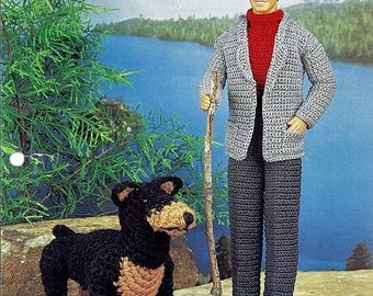 Alpine Hike Crochet Pattern for Ken Annies Fashion Doll Crochet Club
