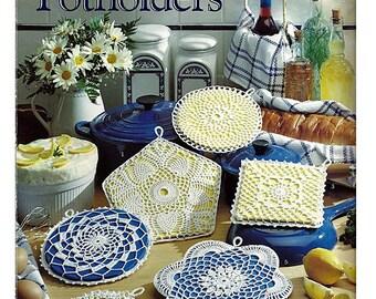 Pretty Crocheted Potholders Pattern Book Leisure Arts 978