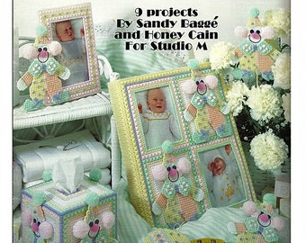 Clowns For Baby In Plastic Canvas Patterns Leisure Arts Leaflet 1349