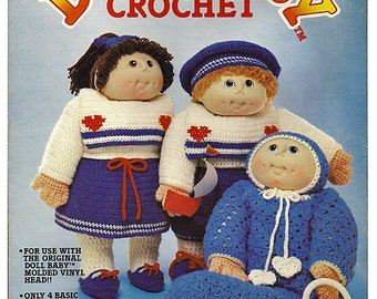 The Original Doll Baby In Crochet Pattern Fibre Craft FCM102