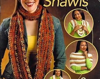 Eternity Shawls Crochet Pattern Annies Attic 875552