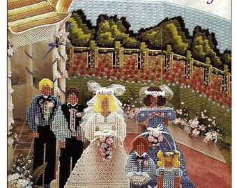 Garden Wedding Plastic Canvas Pattern Annies Attic 87W60