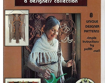 Macrame A designers Collection Macrame Pattern Book