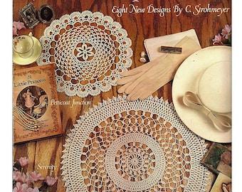 More Antique Doilies Crochet Pattern Book Leisure Arts 2155
